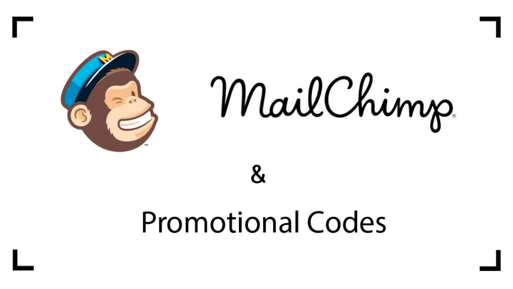 Promo codes from MailChimp