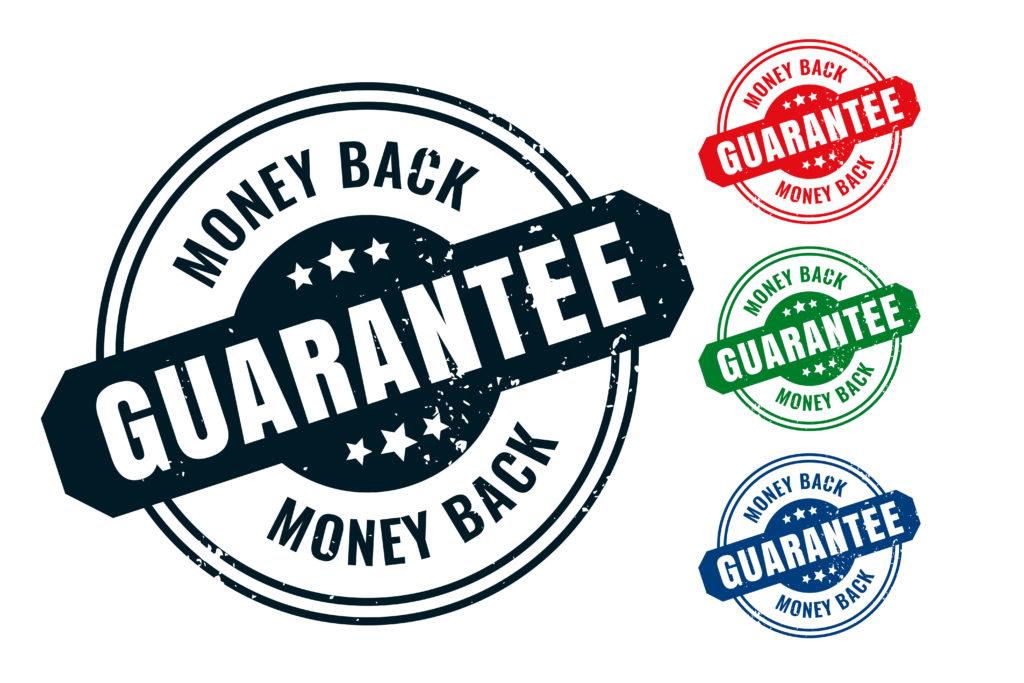 Garantía de devolución de dinero